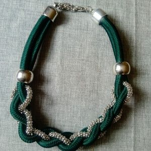 Double Stranded Rope Necklace